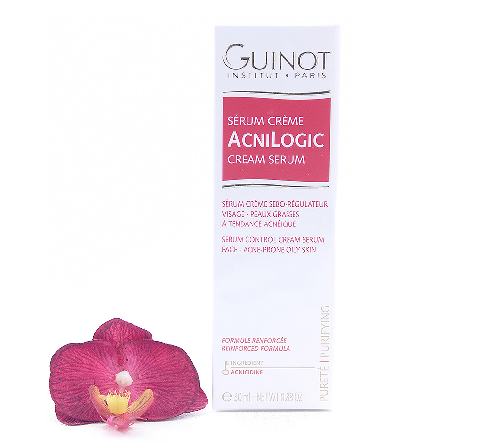 529091 Guinot Acnilogic Cream Serum - Sebum Control Cream Serum 30ml