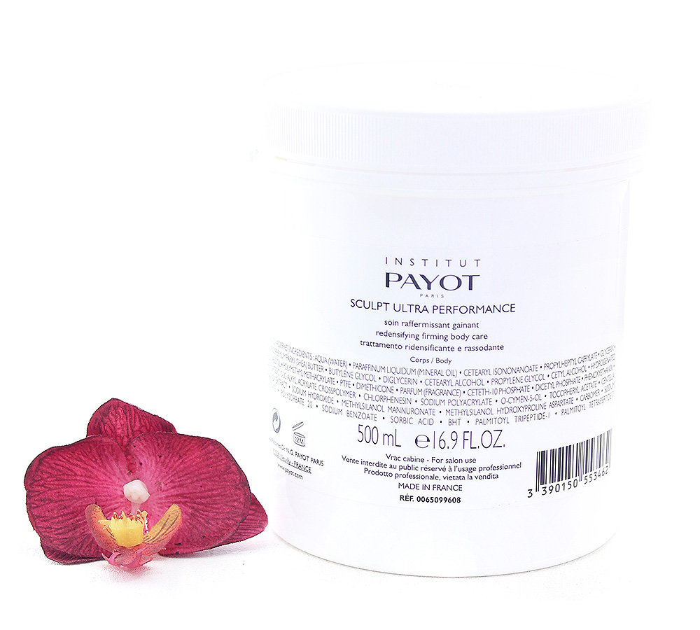 65099608 Payot Le Corps Sculpt Ultra Performance Redensifying Firming Body Care 500ml