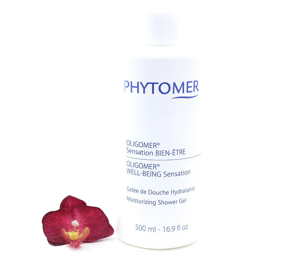PFSCP074 Phytomer Oligomer Well-Being Sensation Moisturizing Shower Gel 500ml