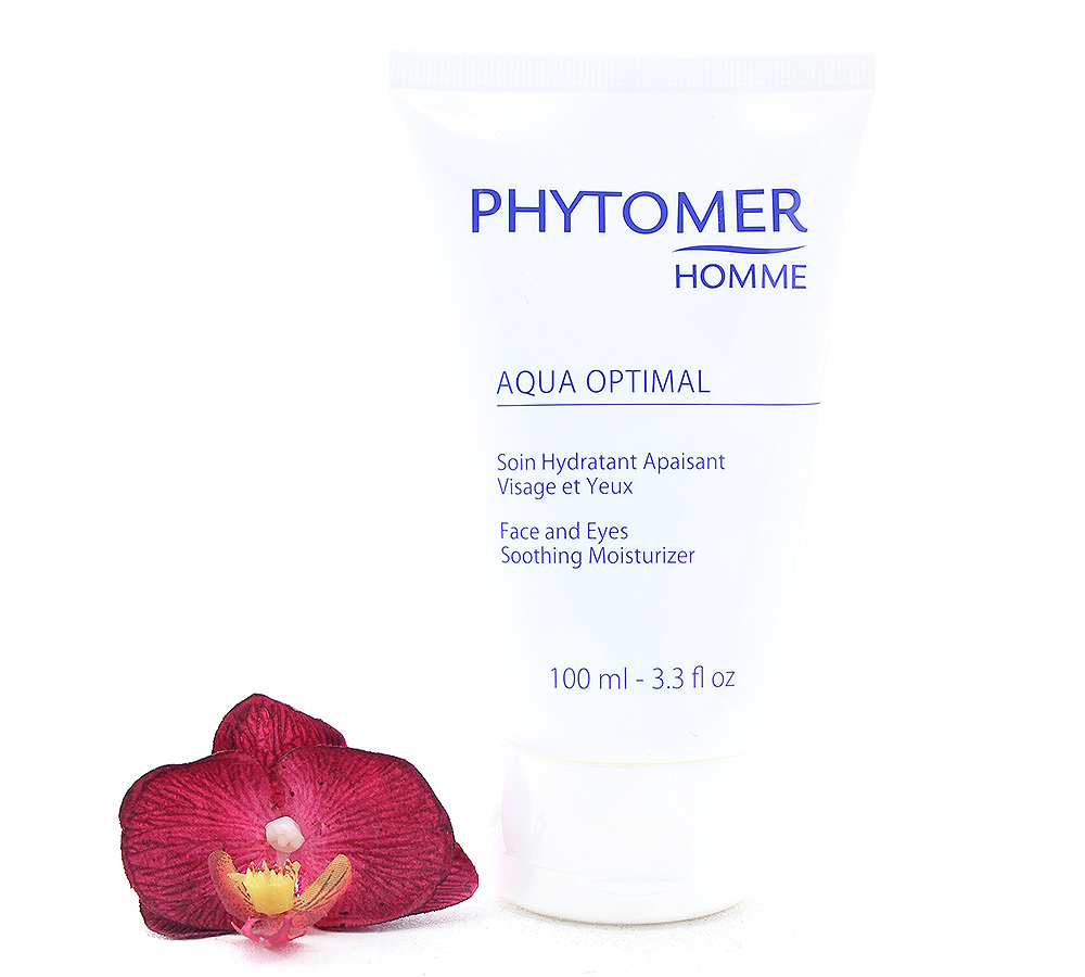 PFSVP846 Phytomer Aqua Optimal Face and Eyes Soothing Moisturizer 100ml