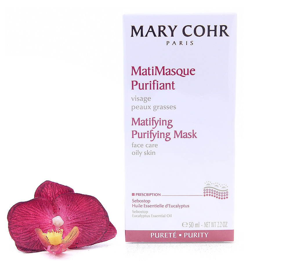 860600 Mary Cohr Matifying Purifying Mask For Oily Skin 50ml