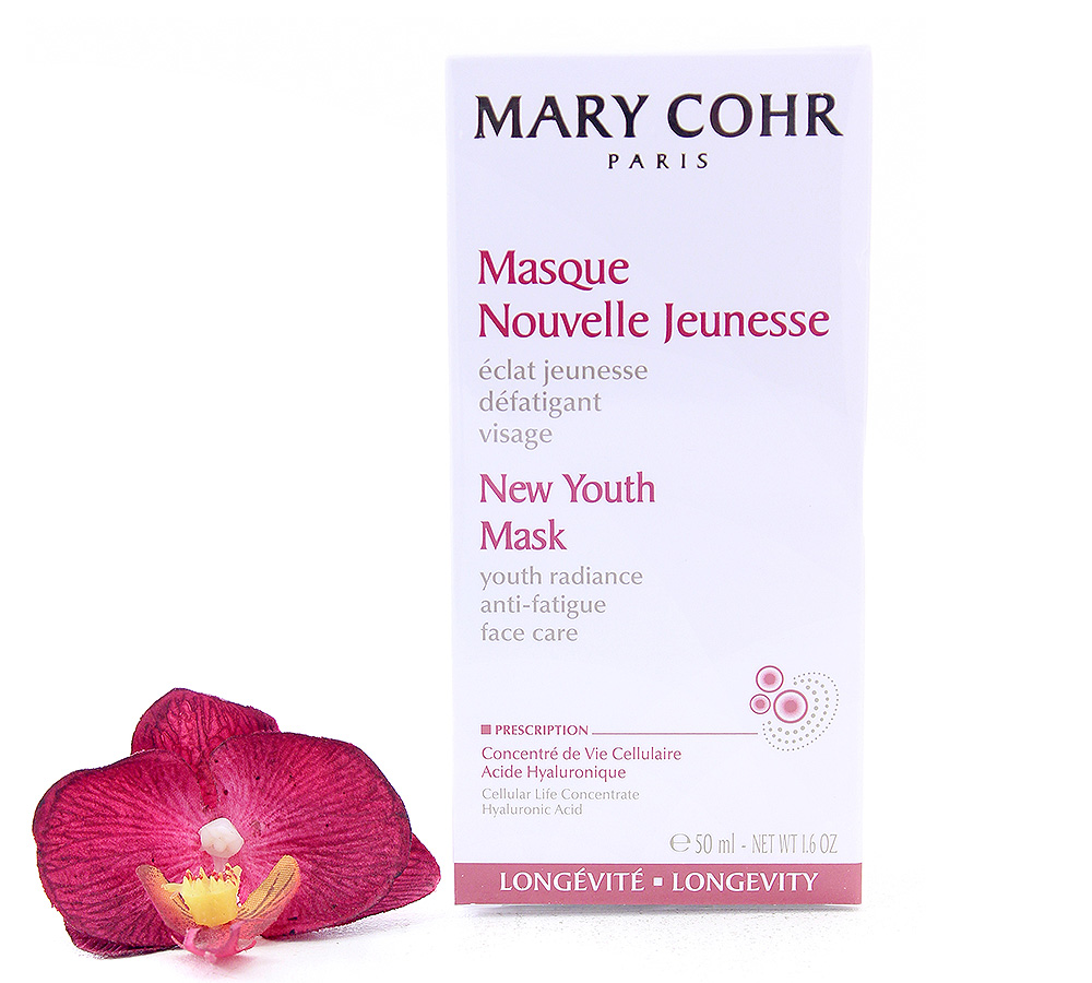 891610 Mary Cohr Longevity Masque Nouvelle Jeunesse 50ml