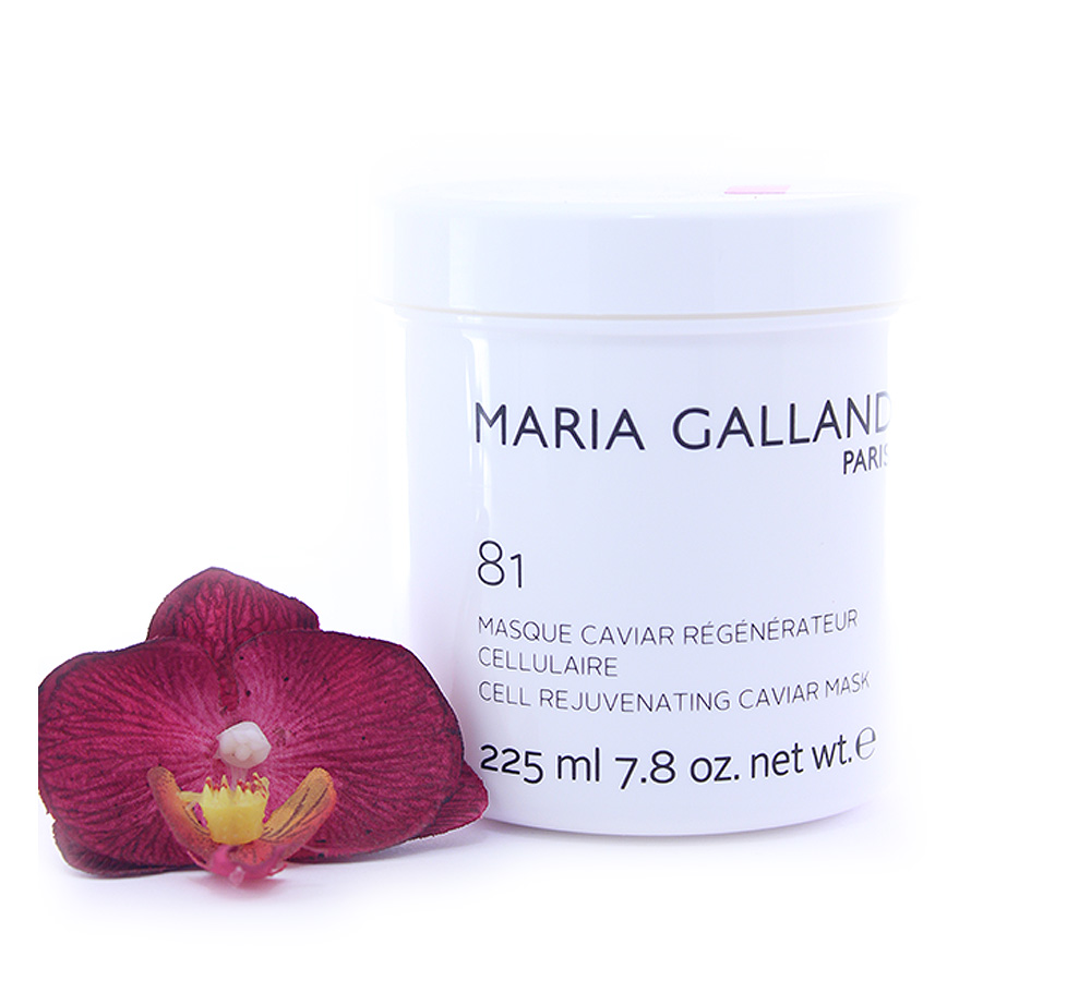 19001345 Maria Galland 81 Cell Rejuvenating Caviar Mask 225ml