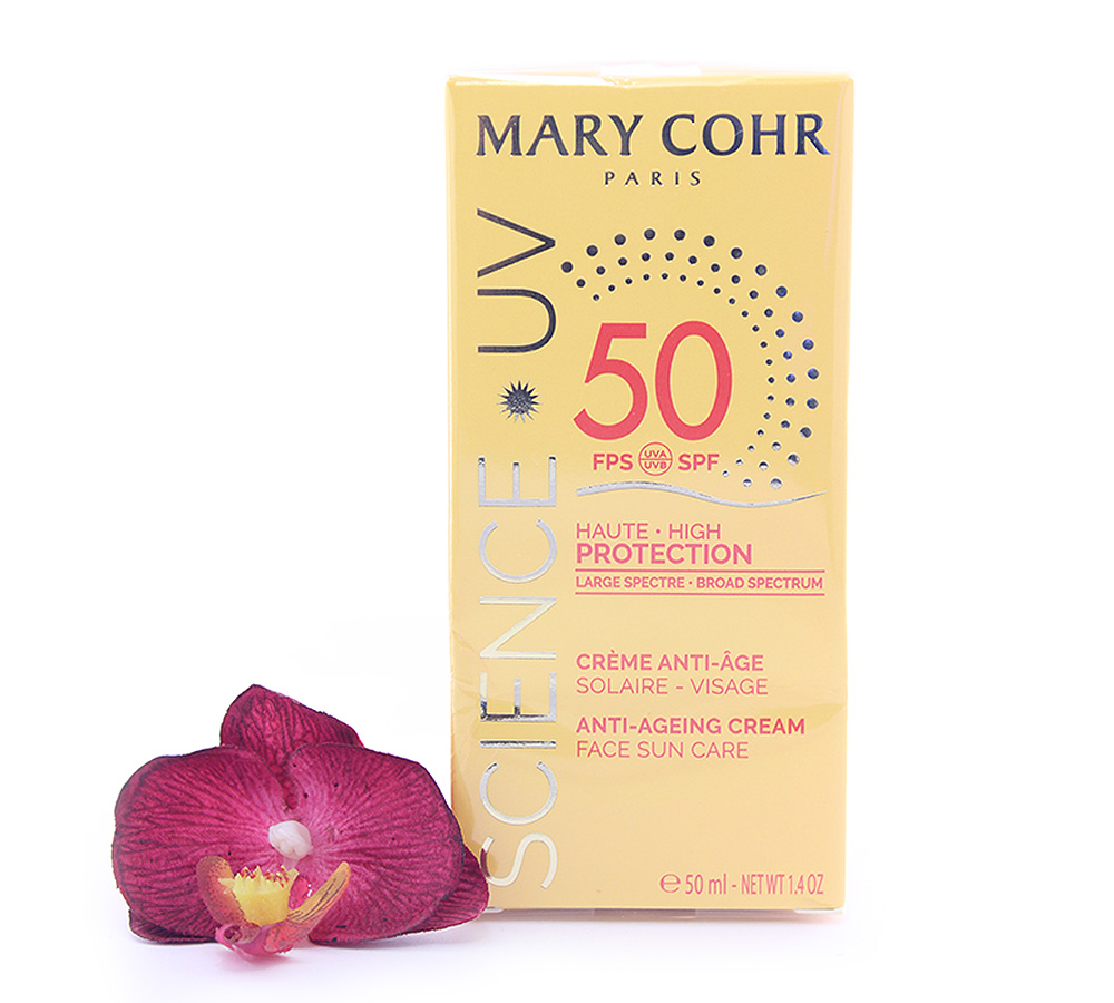 893870 Mary Cohr Science UV Anti-Ageing Cream - High Protection Face Sun Care SPF50 50ml