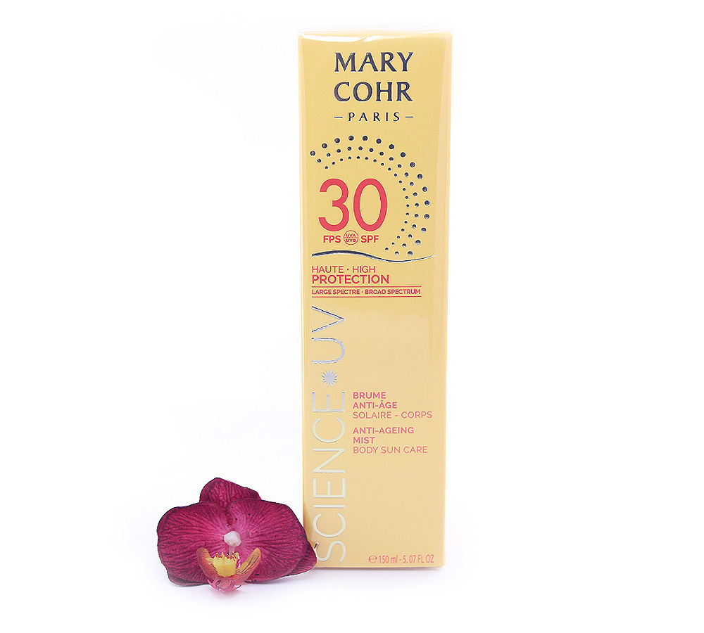 893910 Mary Cohr Science UV Anti-Ageing Mist - High Protection Body Sun Care SPF30 150ml