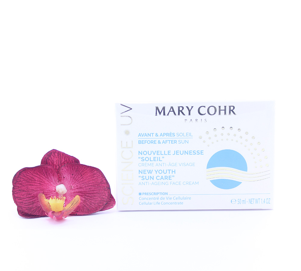 893930 Mary Cohr Science UV New Youth Sun Care - Anti-Ageing Face Cream 50ml