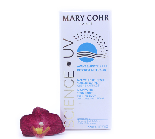 "893940-510x459 Mary Cohr Science UV New Youth ""Sun Care"" For The Body Anti-Ageing Cream 150ml"