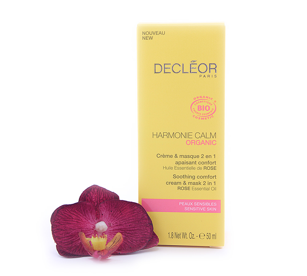 971217 Decleor Harmonie Calm Organic - Soothing Comfort Cream & Mask 2 in 1 50ml