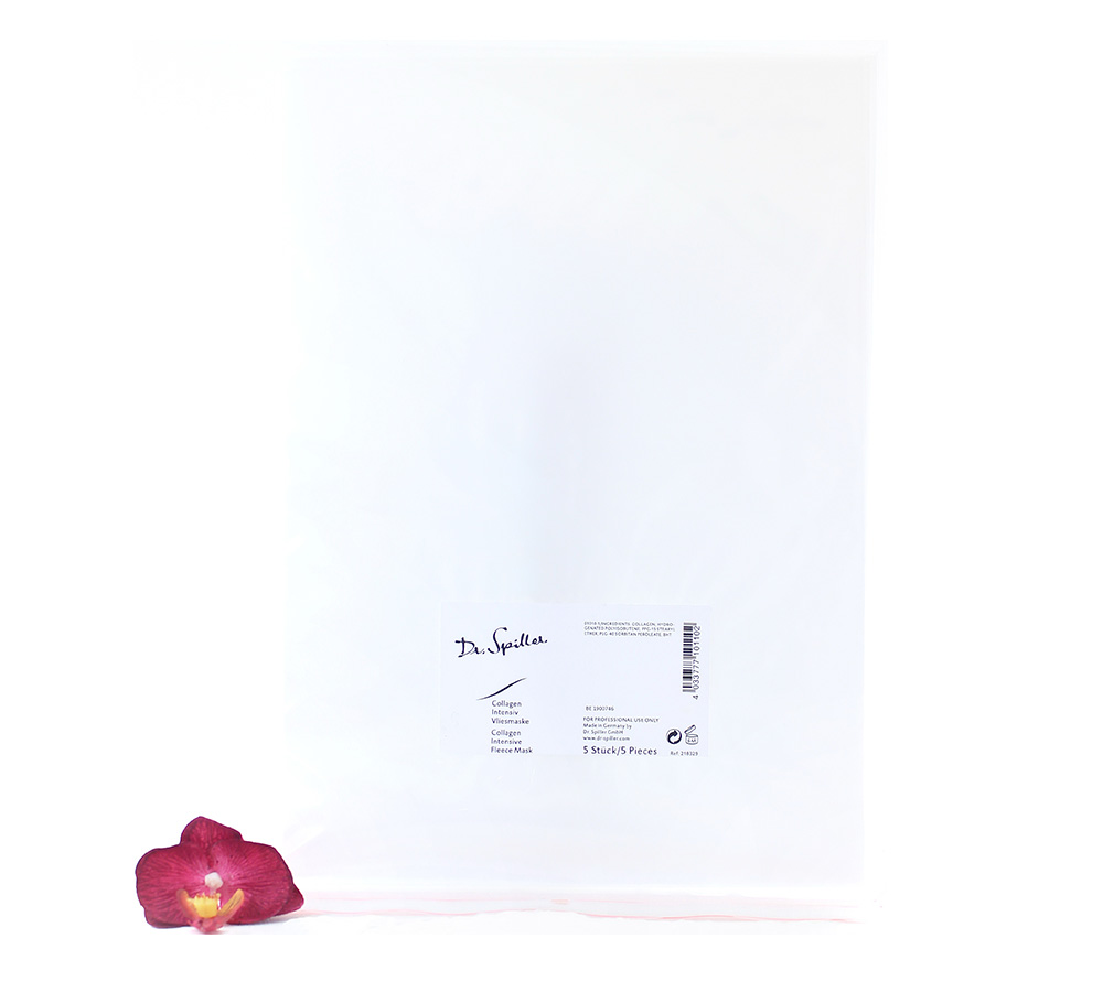 218329_2 Dr. Spiller Collagen Intensive Fleece Mask 5 Pieces