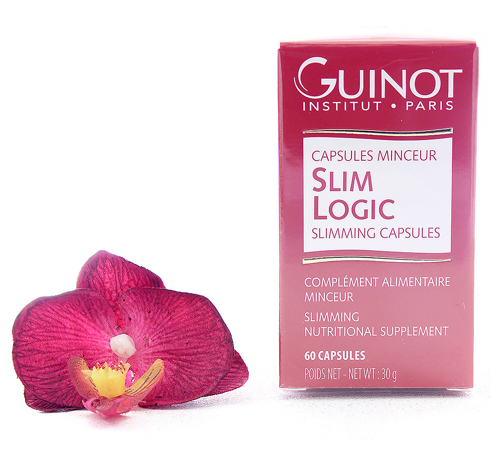 26530000 Guinot Slim Logic - Slimming Nutritional Supplement 60 Capsules