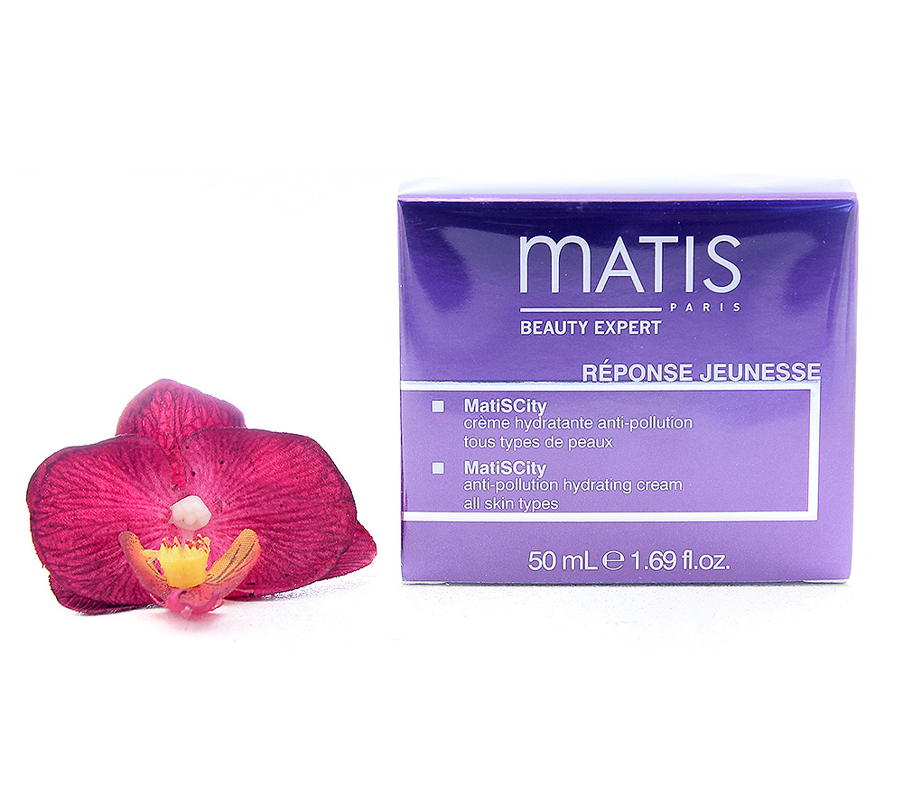 36243 Matis Reponse Jeunesse - Matiscity Anti-Pollution Hydrating Cream 50ml
