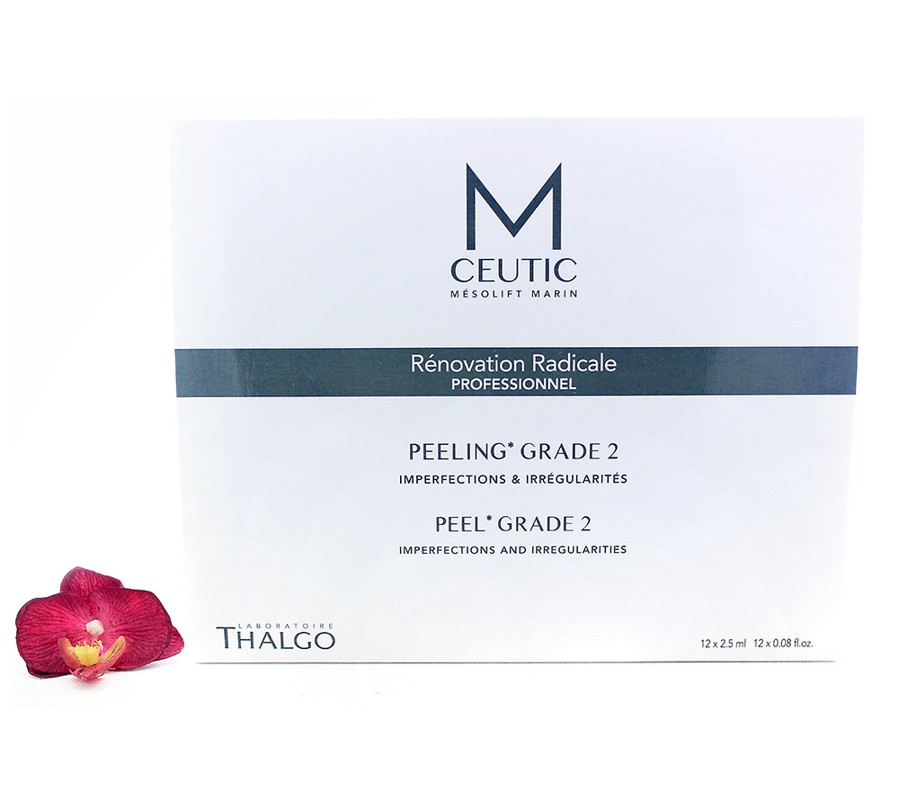 KT17021 Thalgo M-Ceutic Peel Box Grade 2 12x2.5ml