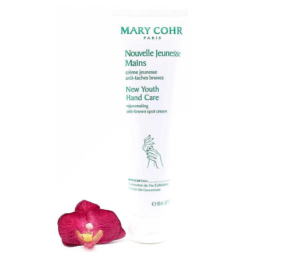 792340 Mary Cohr New Youth Hand Care - Rejuvenating Anti-Brown Spot Cream 150ml
