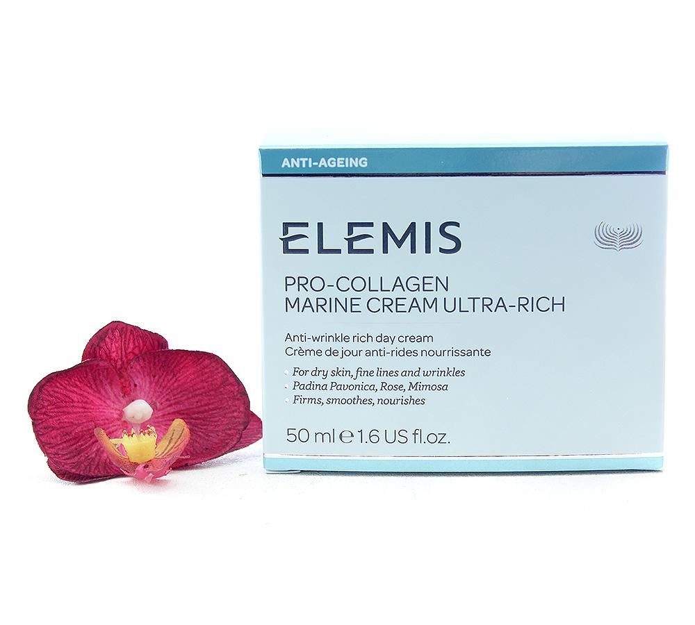 EL00194 Elemis Pro-Collagen Crème De Jour Anti-Rides Nourrissante 50ml