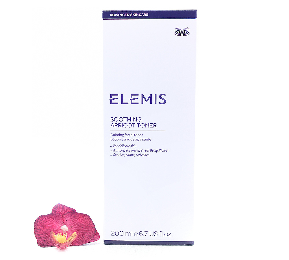 EL00228 Elemis Soothing Apricot Toner - Lotion Tonique Apaisante 200ml