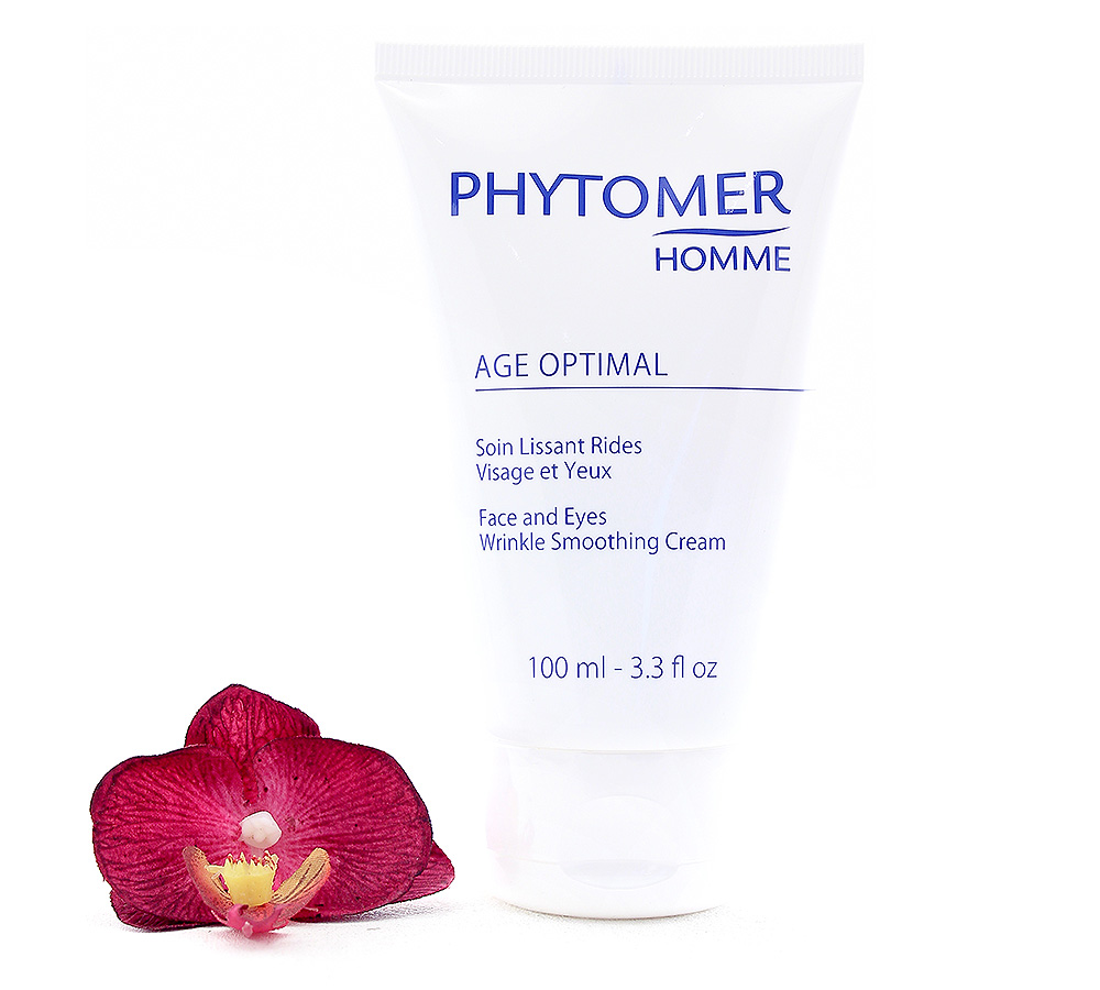 PFSVP853 Phytomer Homme Age Optimal - Face and Eyes Wrinkle Smoothing Cream 100ml