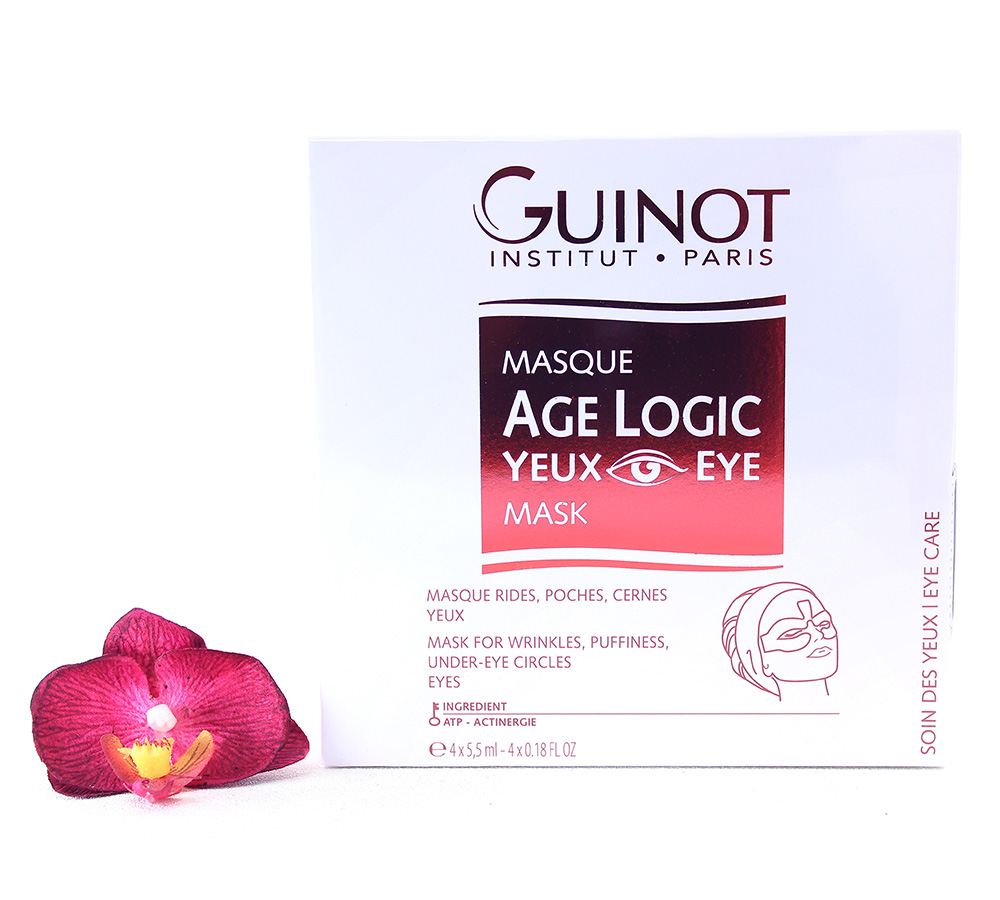 26527393-2 Guinot Age Logic - Eye Logic Eye Mask 4 x 5.5ml