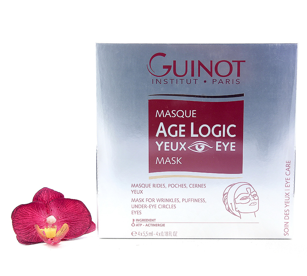 26527393 Guinot Age Logic - Eye Logic Eye Mask 4 x 5.5ml