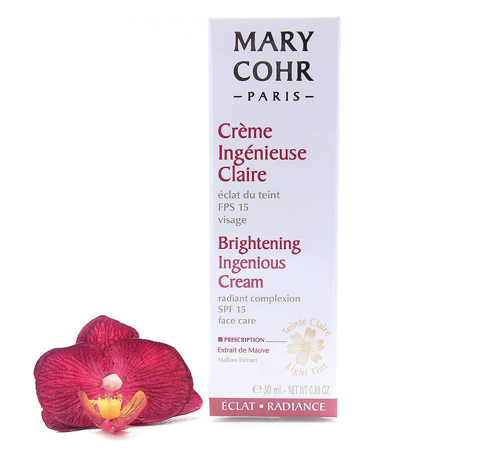 894070 Mary Cohr Crème Ingénieuse Claire FPS15 30ml