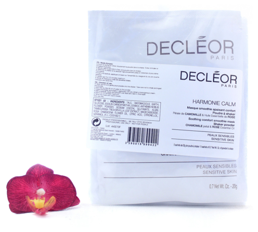 DR2707800-510x459 Decleor Harmonie Calm - Soothing Comfort Smoothie Mask 5x20g
