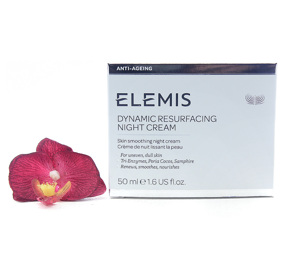 EL00712 Elemis Dynamic Resurfacing Night Cream - Skin Smoothing Night Cream 50ml