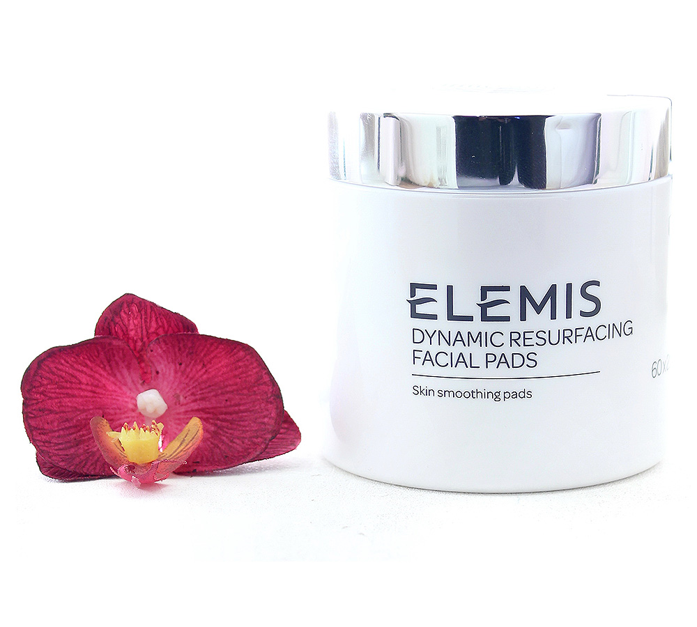 EL50053 Elemis Dynamic Resurfacing Facial Pads - Skin Smoothing 60 Pads