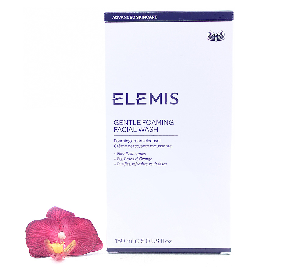EL50151 Elemis Gentle Foaming Facial Wash - Foaming Cream Cleanser 150ml