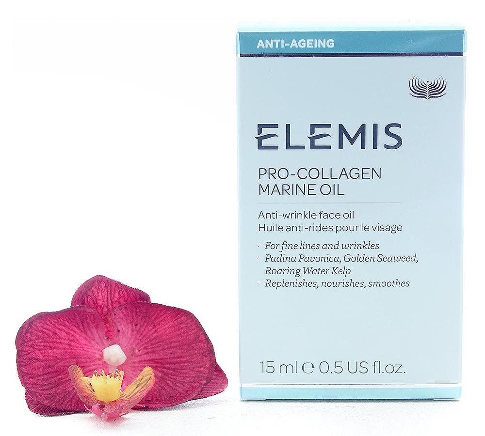 EL50162 Elemis Pro-Collagen Marine Oil - Anti-Wrinkle Face Oil 15ml