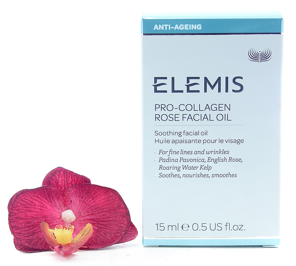 EL51029 Elemis Pro-Collagen Soothing Rose Facial Oil 15ml